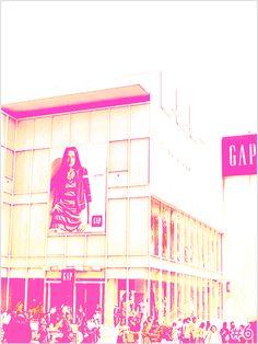 GAP of Harajuku. #mange, #tokyo,#harajyuku, #real, #life, #story
