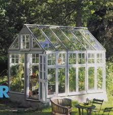 Old windows recycled Hothouse, Old Windows, Glass Terrarium, Recycling, Landscape, Flowers, Gardening, Outdoors, Studio