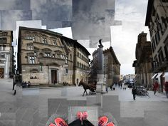 Photography / Collage - Firenze, Via Tournaboni