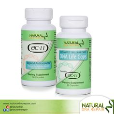 This combo package was designed to save money on shipping for those adults who want to maintain a #healthy and active #lifestyle! #naturaldnarepair #Health