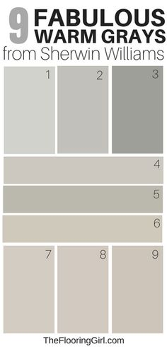 Amazing Warm Gray Paint Shades from Sherwin Williams 9 amazing warm grays from Sherwin Williams - best greige shades of paintGrey (disambiguation) Grey or gray is a neutral color between black and white. Grey, greys, gray, or grays may also refer to: Most Popular Paint Colors, Best Gray Paint Color, Greige Paint Colors, Exterior Paint Colors, Paint Colors For Home, Warm Gray Paint Colors, Gray Beige Paint, Paint Colors For Basement, Wall Colors