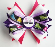 March for Babies Hair Bow