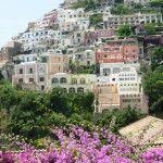 Colours and contrasts in Positano, Amalfi Coast.