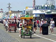 I love Ocean City, NJ. It is the best family beach and the entire town is dry, which gives you a feeling of going back in time. The boardwalk is great. And you are 15 minutes from Atlantic City NJ if you want casinos and bars ;-)