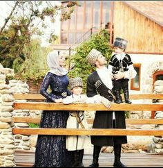 Circassian Family