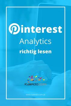 Pinterest Analytics: so liest Du die Zahlen richtig.