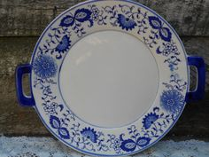 German Blue Onion Serving Platter  Plate by CottonCreekCottage, $28.99