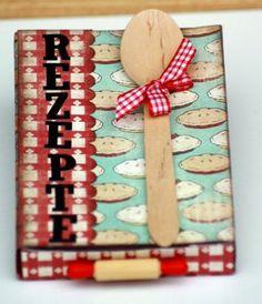 Kreative Ideen rund ums Basteln, Scrapbooking , Kochen und Backen: Rezepte Schachtel