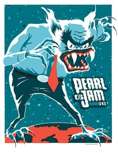 Pearl Jam puts out the best posters for current bands.