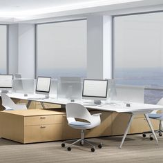 Compositions is a holistic system of furniture components that can address the diverse needs of the modern workplace, from private offices to benching and open-plan environments.