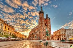 Krakow is one of the beautiful cities of the world. It is known for its well preserved medieval core. which is located in the southern part of the Poland.