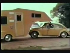 A 1974 Commercial for a Trailer That Attaches to the Top of a Volkswagen Beetle