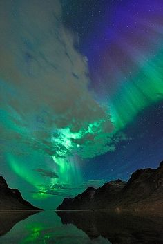 northern lights....would love to see these one day<3