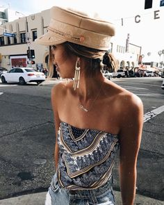 Seashore Bandana Top #lovepriceless Stylish Outfits, Cool Outfits, Summer Outfits, Fashion Outfits, Womens Fashion, Fashion Trends, Bandana Top, Bandana Scarf, Bali