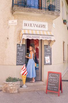 Gal Meets Glam Venasque & Avignon, Provence - Day: Rejina Pyo Dress, Aquazzura x DeGournay Loafers & Mark Cross bag Nice France, South Of France, Vacation Outfits, Summer Outfits, France Outfits, Moustiers Sainte Marie, Travel Pose, Europe Fashion, Spain Fashion