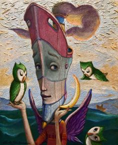 Buy TODAY I FEEL LIKE A SAILOR - ( Ready to hang ), Acrylic painting by Carlo Salomoni on Artfinder. Discover thousands of other original paintings, prints, sculptures and photography from independent artists.