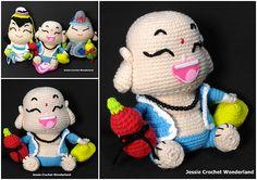 Crochet Maitreya Buddha ( Laughing Buddha )