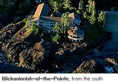 The Wickaninnish Inn - Tofino, BC, Canada