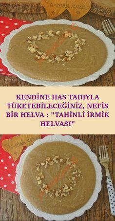 A Delicious Halva You Can Consume with Its Own Taste: Tahini Halvah Halva - Essen Tahini, Köstliche Desserts, Delicious Desserts, Sweet Potato Brownies, Brownie In A Mug, Good Food, Yummy Food, Turkish Recipes, Granola