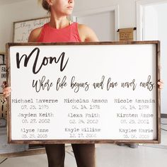 Family Sign | Family Quotes | Family Pictures | Mom Quotes | Motherhood | Mom Gifts | Grandma Quotes | Grandma Gifts | Living Room Decor | Farmhouse House Decor | Living Room Wall Decor | Fixer Upper Style | Farmhouse Style | Farmhouse Decor | Rustic Decor | Wood Signs | Joanna Gaines | Shiplap