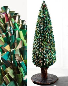 The Art of Trees      Trees made of books by Frederico Uribe (via the curiosity workshop)