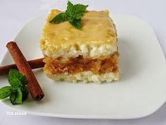 Ala piecze i gotuje: Ryż z jabłkami i polewą ze śmietany Polish Recipes, Risotto, Brunch, Dessert Recipes, Vegetarian, Food, Miami, Meal, Essen