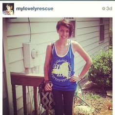 We love seeing @mylovelyrescue already reppin a new summer 13 tank! #livetolove