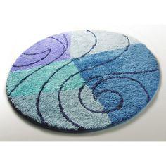 Floral Round Bath Rug   Round Bath Rugs   Pinterest   Bath rugs ...