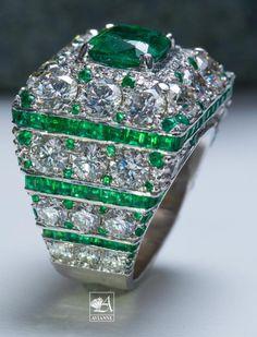 Octagon Emerald Diamond Ring In Yellow Gold White Gold Diamond Ladies Ring Purple Jewelry, Emerald Jewelry, Gems Jewelry, High Jewelry, Crystal Jewelry, Unique Jewelry, Emerald Rings, Jewellery, Rose Gold Diamond Ring