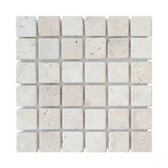 Mosaïque Ivoire 30,5 x 30,5 cm Mosaic Bathroom, Bath Mat, Ivoire, Dimensions, Beige, Products, Travertine, Wrapping, Taupe