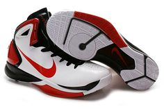 Air Foamposite Nike Hyperdunk 2010 White Sport Red Black [Nike Hyperdunk 2010 - Sought after Nike Hyperdunk 2010 White Sport Red Black kicks using Flywire support in the TPU upper are similar to the Kobe V. The dominant white upper with red and black Air Max Sneakers, Sneakers Nike, Red Basketball Shoes, Nike Air Max, Kicks, Nike Foamposite, Nerd Stuff, Red Black, Sports