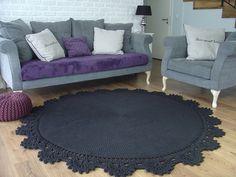 dywan z bawełnianego sznurka