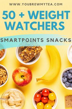 Here's a great list of Weight Watchers smartpoints snacks you and your family will enjoy. From fruits and veggies, dairy, salty, and sweet, these snack ideas are all healthy. See them here! #ww #weightwatchers #wwsnacks #wwfreestyle #wwsmartpoints