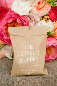 Coffee Favors | photography by http://www.greenapplephotographyonline.com/