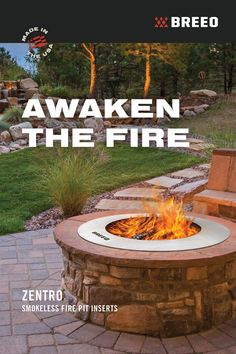 When it comes to campfires and over the fire cooking, Breeo has you covered. Fire Pit Grill, Fire Pit Area, Fire Pit Backyard, Front House Landscaping, Backyard Patio Designs, Backyard Landscaping, Camping Grill, Fire Pit Insert, Cool Fire Pits
