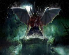 Browsing Digital Art on DeviantArt Gothic Images, Dark Images, Fantasy World, Fantasy Art, Horror Artwork, Elves Fantasy, Fantasy Book Covers, Dark And Twisted, Gothic Fairy