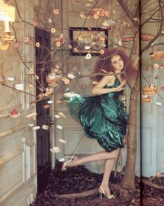 Tim Walker: Lily Cole in Vogue Italia 2005.  I've got so much love for that man.