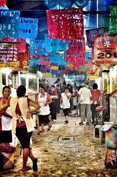Mercado de Oaxaca. México
