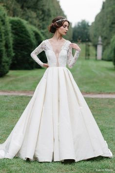 Sareh Nouri Fall 2016 Wedding Dresses — Lookbook | Wedding Inspirasi