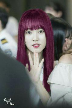 Gfriend yuju hair kpop buddy