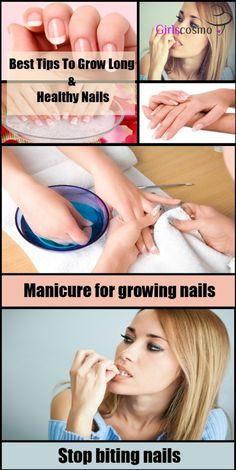 how to grow long natural nails