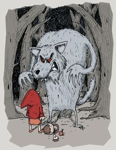 New Little Red Riding Hood by stuartmcghee