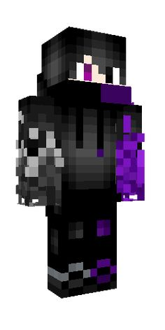 Minecraft Skins Black, Cool Minecraft Houses, Minecraft Buildings, Hama Beads Minecraft, Perler Beads, Skin Craft, Minecraft Decorations, Monster High Custom, Iphone Background Wallpaper