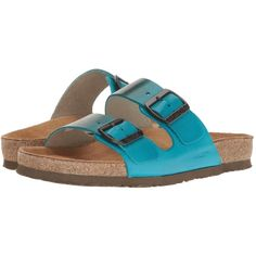 79b73e88be76 Naot Footwear Santa Barbara - Hand Crafted (Teal Brown Leather)... ( 150) ❤  liked on Polyvore featuring shoes