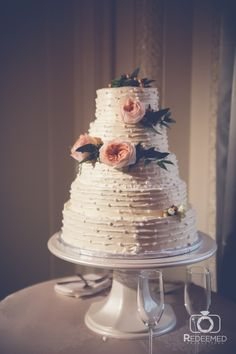Cake by Anne Keller Cakes | Photo by Redeemed Productions