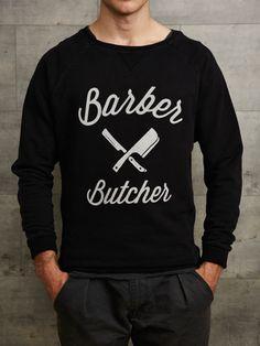 Distorted People - BB Blades - Grand Neck Sweatshirts