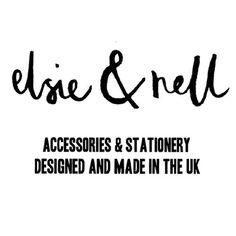 Elsie and Nell - a range of accessories, jewellery and stationery from Sheffield