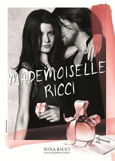 Nina Ricci Mademoiselle Ricci Fragrance ad starring Tati Cotliar and James Rousseau