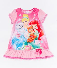 Pink Palace Pets Nightgown - Toddler by Palace Pets #zulily #zulilyfinds