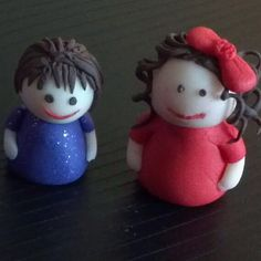 Cute FIMO Polymer Clay Little People by http://www.lisarae.co.uk